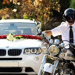اسکورت ماشین عروس مجنون تهران