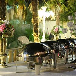 غذا ی باغ تالار مجنون تهران